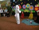 Mały biały króliczek